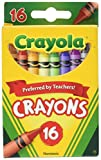 Crayola Color Pack Classic Wachsmalstifte 16EA