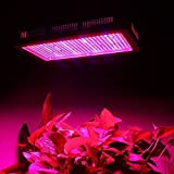 Derlight 600W Full Spectrum High Power Led grow Light, Red & Blue Mixed with UV+IR 85-265V, For Vegetable Flower Budding Horticulture Indoor Greenhouse Botanic Garden Hydroponic Growth Lamp (600W)