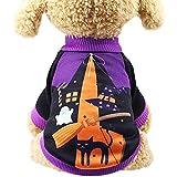 Kennella New Halloween Pet Sweatshirts Hund Cute Fashion Orange Kürbis Kostüm