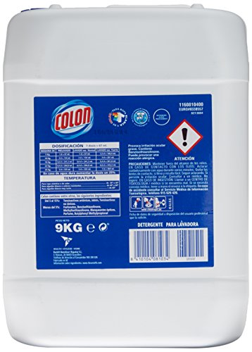 Colon Azul Profesional Detergente Líquido   9 kg