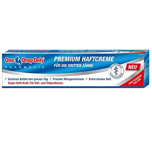 One Drop Only Premium Haftcreme 40g
