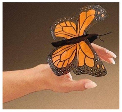 Folkmanis Puppets 2156 - Mini-Schmetterling (Folkmanis Baby-puppen)