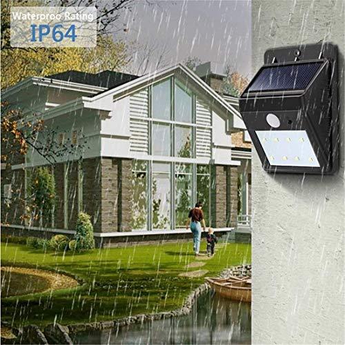 8 Light Halogen Kronleuchter (Lightsolar Lights, Solar-Bewegungssensor-Sicherheitslicht-Wand-Licht-Lampen, 8 geführte wasserdichte angetriebene Solarlichter im Freienlichter für Garten, Zaun)