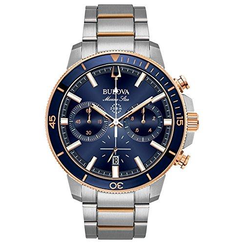 Bulova 98b301para hombre MARINE Star reloj