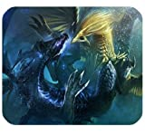 Might Amp Magic Heroes Mousepad Personalized Custom Mouse Pad Oblong Shaped In 9.84'X7.87' Gaming...