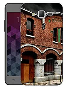 "Humor Gang Old Medieval Building Printed Designer Mobile Back Cover For ""Samsung Galaxy Grand 2"" (3D, Matte Finish, Premium Quality, Protective Snap On Slim Hard Phone Case, Multi Color)"