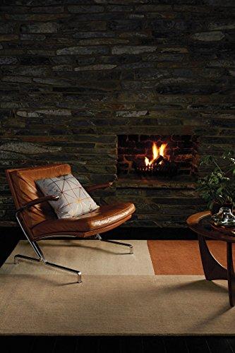KADIMA DESIGN Moderner Designer Teppich BESOS Rug 200x300cm Copper Kupfer 100% Wolle -