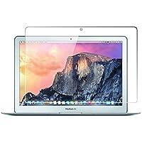 Macbook Air 13 Protector de pantalla para laptop, Cobertura completa Protector de pantalla de vidrio templado para Apple Macbook Air 13,3 pulgadas con Anti-huella digital Bubble-Free Crystal Clear