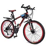XiXia X Mountain Bike Bicicletta Bicicletta nella velocità Sport off-Road Racing Carro Giovanile Adulto 26 Pollici 21 velocità