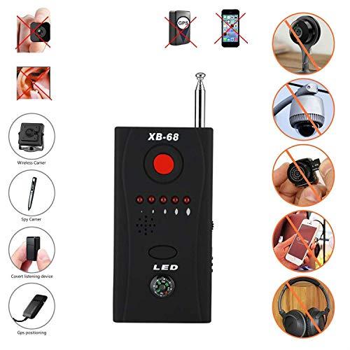 TBDLG Anti Spy Detektor, Signal Detektor RF-Signal Spy Bug Detektor Wireless-Scanner Scan-GPS Tracker Finde (Handy-störsender)