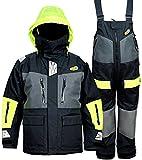 Navis Marine Offshore Segeljacke Bib Hose für Herren Angeln Regenanzug Foul Weather Gear Pro Atmungsaktiv, anthrazit, Large (6