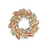 Strass Garland graffe scarpe 2 pezzi di cristallo lucida Patch scarpe da sposa i fascini della decorazione Cappello vestiti fai da te accessori