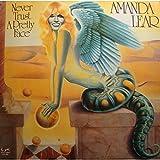 AMANDA LEAR never trust a pretty face LP 1979 Eurodisc -Poster VG++