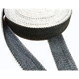 Pandoras Upholstery - Cinta para tapicería (rollo de 10 m), color blanco y