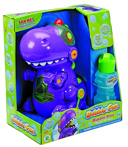J Battery Operated Bubble Dino