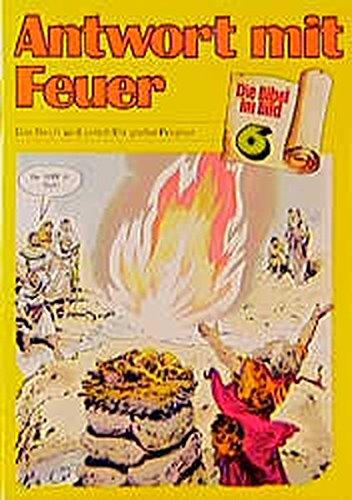 Antwort mit Feuer: Das Reich wird geteilt /Ein grosser Prophet (Die Bibel im Bild / Biblische Geschichten im Abenteuercomic-Stil)