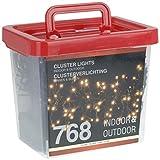 Home&Style Büschellichterkette, 768 LEDs klar, Innen- und Außenbereich, 3 m Zuleitungskabel, 638113
