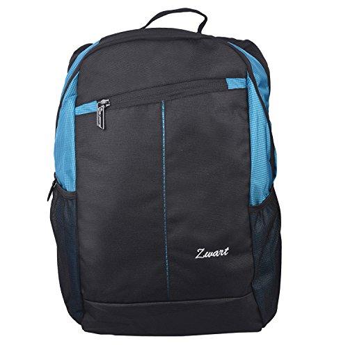 Zwart 20Ltrs Black And Blue Laptop Backpack
