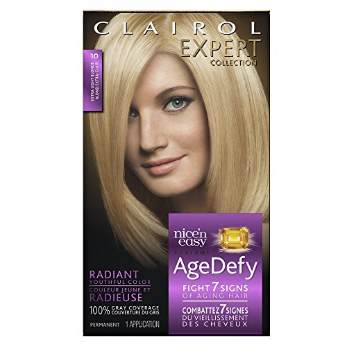 Clairol Age Defy Expert Collection 10 Extra Light Blonde Dye Kit by Clairol