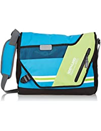 Northland Professional Tasche Zion Shoulder Bag - Mochila, color multicolor (bleu/green/white), talla 44 x 36 x 14 cm, 11 l