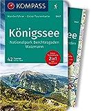 KOMPASS Wanderführer Königssee, Nationalpark Berchtesgaden, Watzmann: Wanderführer mit Extra-Tourenkarte 1:35.000, 42 Touren, GPX-Daten zum Download. - Walter Theil