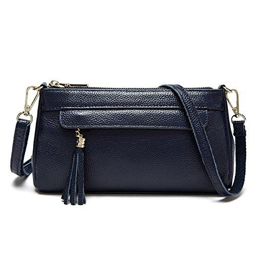 Frau Navy Handtasche Tasche Blau Einfach Schulter Diagonale Mode tragbar rAwrqf0B