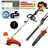 BRAST Benzin Multitool 3.0 PS 5 in1 Motorsense...