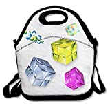 Best Crystal Ice Bags - Crystal Rubic-fuchsia Durable Casual Outdoor Lunch Bag Lunch Review