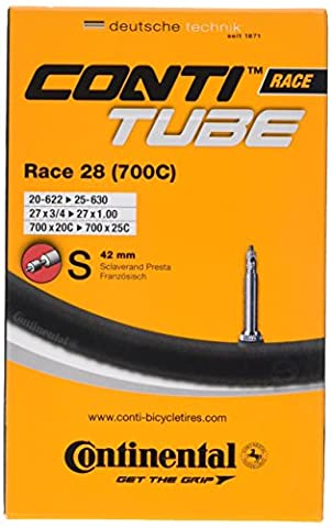 Continental Race 28 700 x 20-25c Bike Inner Tubes - Presta 42mm Valve (Pack of 5)