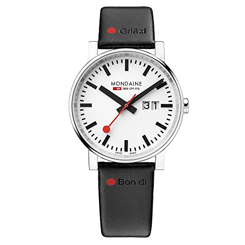 Mondaine Nord Sud Men's Wristwatch 40mm Quartz A6273030311GOT