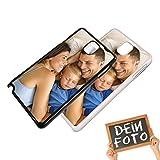Handyhülle für Samsung Galaxy-Serie selbst gestalten * eigenes Foto * Schutz mit eigenem Bild, Farbe:Schwarz, Handymodell:Samsung Galaxy Note 4