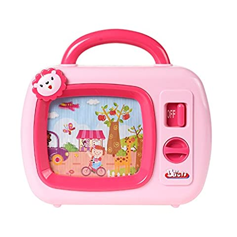 Baoli Wind Up Music TV Toy With Moving Screen for