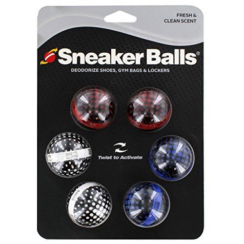 Sneaker Balls Schuherfrischer, Sportasche und Lufterfrischer, 6 Stück