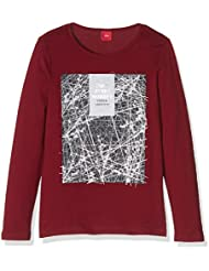s.Oliver Mit Frontprint, T-Shirt Manches Longues Fille