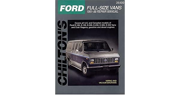 Incredible Ford Vans 61 88 Total Car Care Amazon Co Uk Chilton Wiring Digital Resources Instshebarightsorg