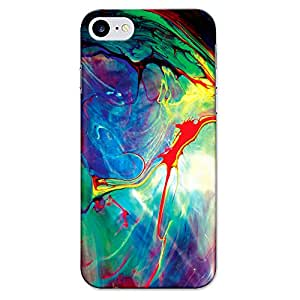 DASM United Apple Iphone 7 Premium Back Case Cover - Mixed Paint