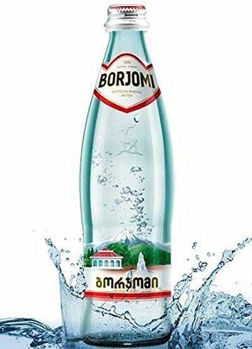 Mineralwasser BORJOMI In Glasflasche 0,5 Liter (12er Packung)