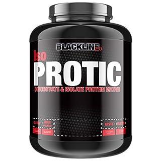 BlackLine 2.0 Iso-Protic Isolate Protein Matrix Konzentrat Eiweiß Proteinshakes Eiweißshake 2000g (Cookies & Cream)