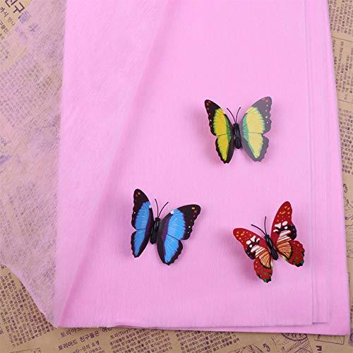 GUOYIHUA 38-40 Blatt/Pack 50 * 50 cm Blumen Geschenkpapiere Baumwolle Tissu Papier Geschenke Büttenpapier ohne ()