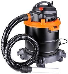 Arebos Fahrbarer Aschesauger Kaminsauger mit 1200 W motor und HEPA Filter, 4260199750704