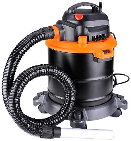Arebos ARE-NS-18L 4260199750704 Aspirateur de cendres cheminée 1200 W