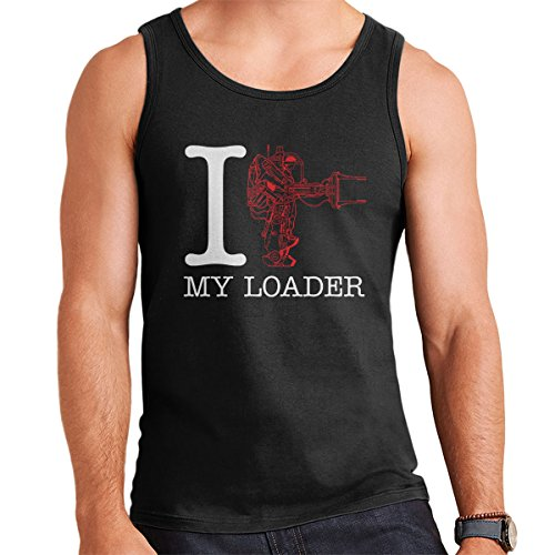 Alien I Heart My Loader Men's Vest Black