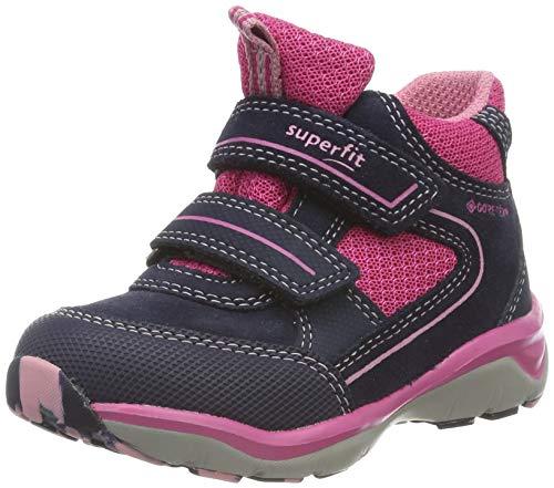superfit Mädchen SPORT5-509239 Hohe Sneaker, (Blau/Rosa 82), 30 EU