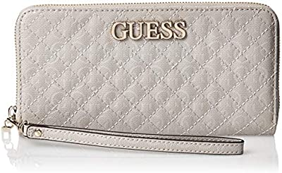Guess Wilona SLG Large Zip Around Wallet Cloud