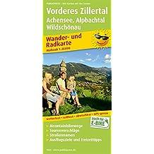 Vorderes Zillertal, Achensee - Alpbachtal, Wildschönau: Wander- und Radkarte mit Ausflugszielen & Freizeittipps, wetterfest, reißfest, abwischbar, GPS-genau. 1:35000 (Wander- und Radkarte / WuRK)