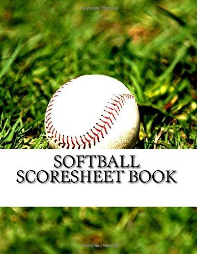 Softball Scoresheet Book: 400 Pages (200 sheets) por Julien Coallier