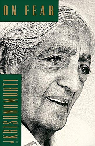 On Fear por J. Krishnamurti
