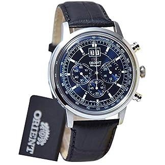 Orient FTV02003D0 – Reloj de pulsera analógico de piel y cuarzo