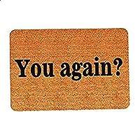 You Again, Entrance Mats Floor Carpet Interior/Outdoor/Front Door/Bathroom Mat Rubber Non-slip Doormat