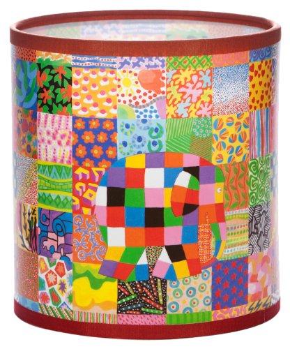 elmer-the-elephant-pantalla-redonda-para-lampara-tamano-pequeno-diseno-de-cuadros-y-elefante-varios-
